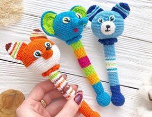 Вязаные изделия и игрушки