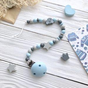Нежно-голубой+серый