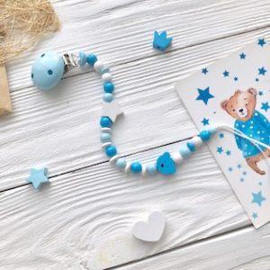 Нежно-голубой+синий